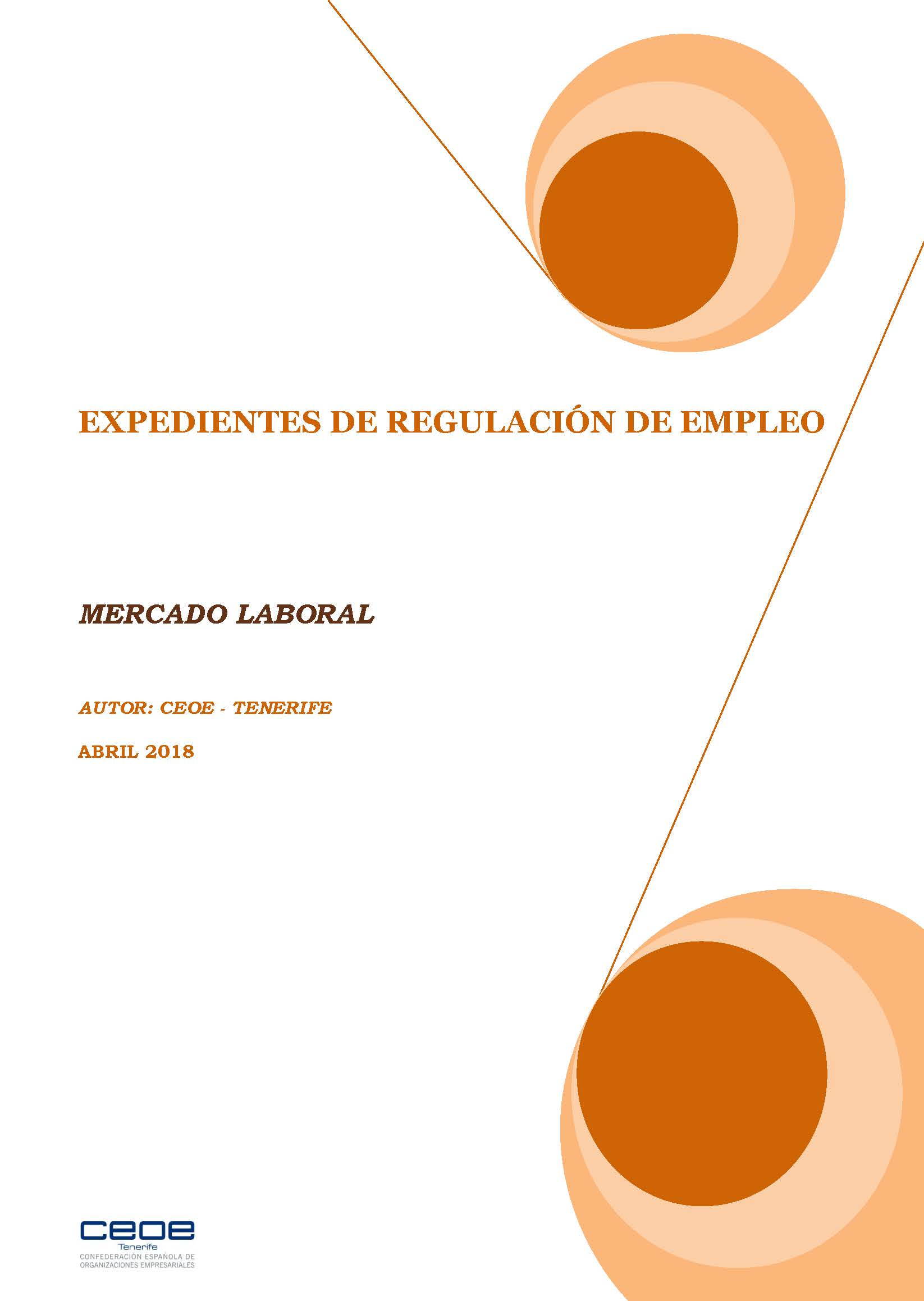 MERCADO LABORAL - ERES ABRIL 2018