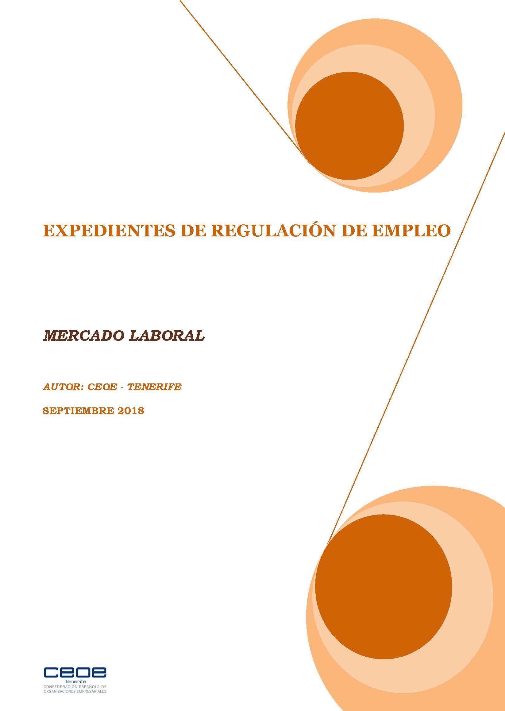 MERCADO LABORAL - ERES SEPTIEMBRE 2018