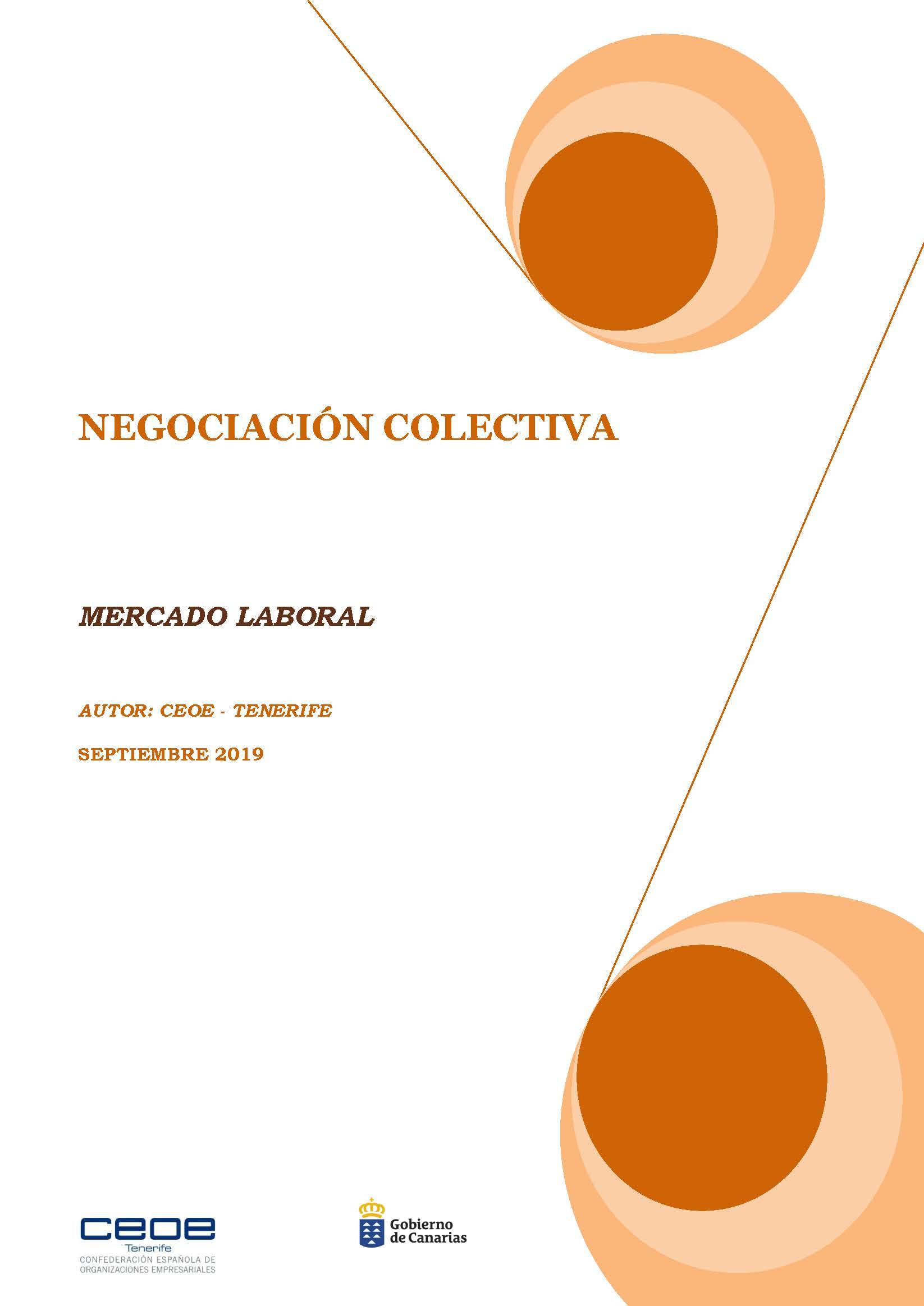 MERCADO LABORAL - NEGOCIACION COLECTIVA SEPTIEMBRE 2019